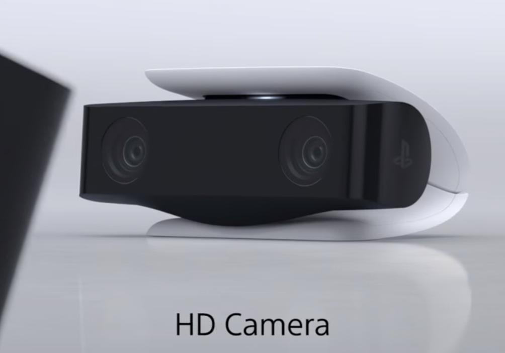 PS5 HD Camera billede af designet