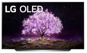 """LG 48"""" Fladskærms TV OLED48C1 OLED 4K - TV til PS5"""